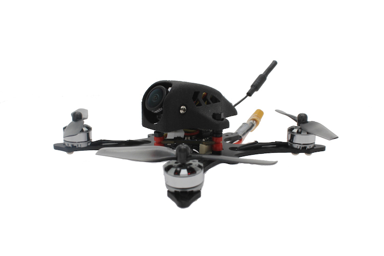 [ FF65-GT ] 3S Brushless 2.5inch 65mm Prop F4 12A FPV Racing Drone EOS2 200mW OSD VTX-HBFPV Official Site