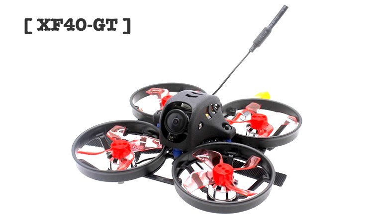 [ XF40-GT] 3S Brushless 1.6inch 40mm Prop F4 12A FPV Racing Drone EOS2 200mW OSD VTX