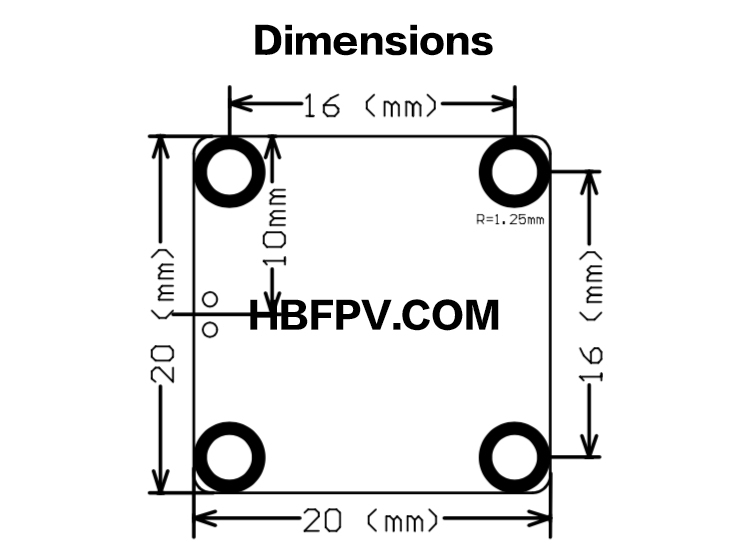 [ FDVTX ] Manual (0-400mW 16x16mm VTX)-HBFPV Official Site