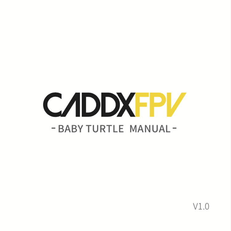 [ Caddx Baby Turtle ] HD DVR Camera 1080P 800TVL 64G TF Card-HBFPV Official Site